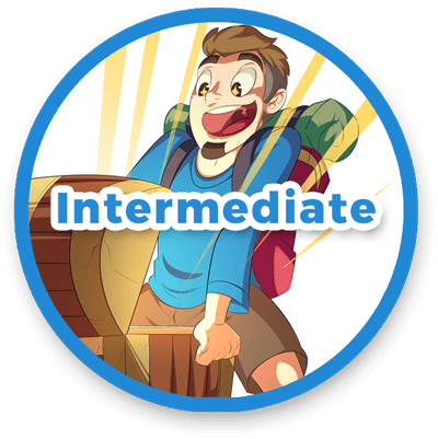 Intermediate level Spanish stories