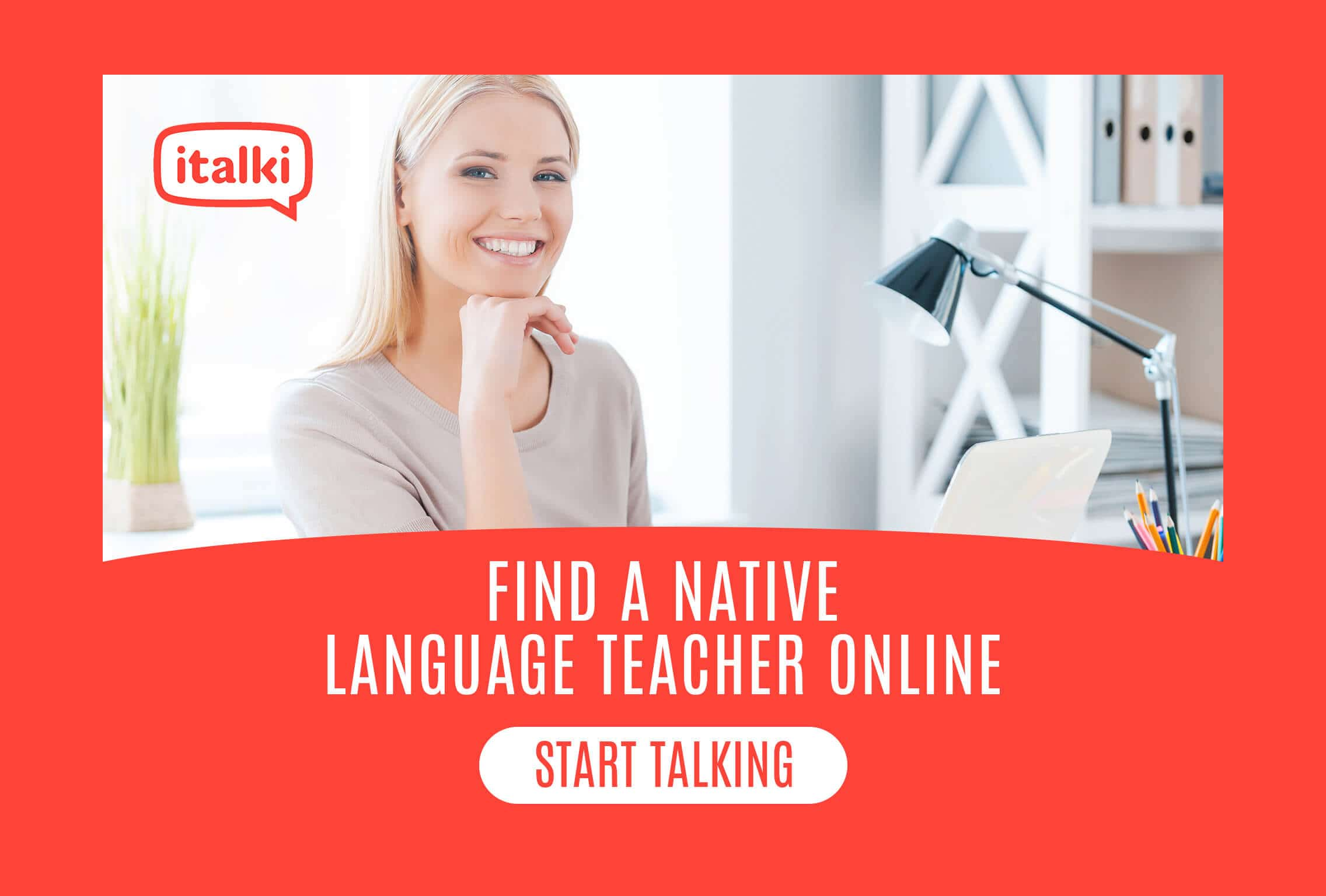 Spanish online lessons with italki